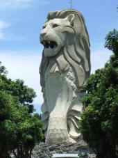 giant-merlion-on-sentosa