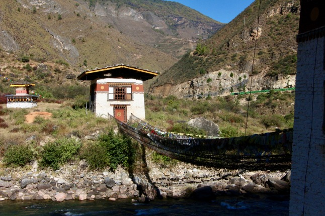 Bridge in Paro