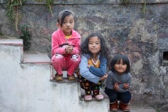Some of the children I met whilst in Bhutan