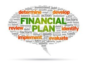 Making a financial plan makes perfect sense