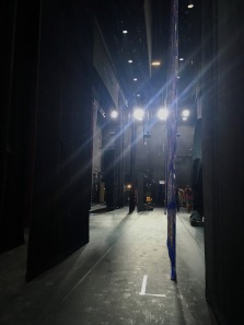 Scenery, backstage at Sister Act the Musical, Singapore