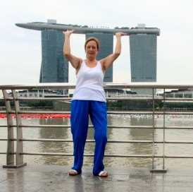 Great photo opportunities at Merlion Park
