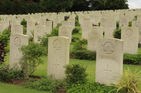 The graves at Kranji War Memorial